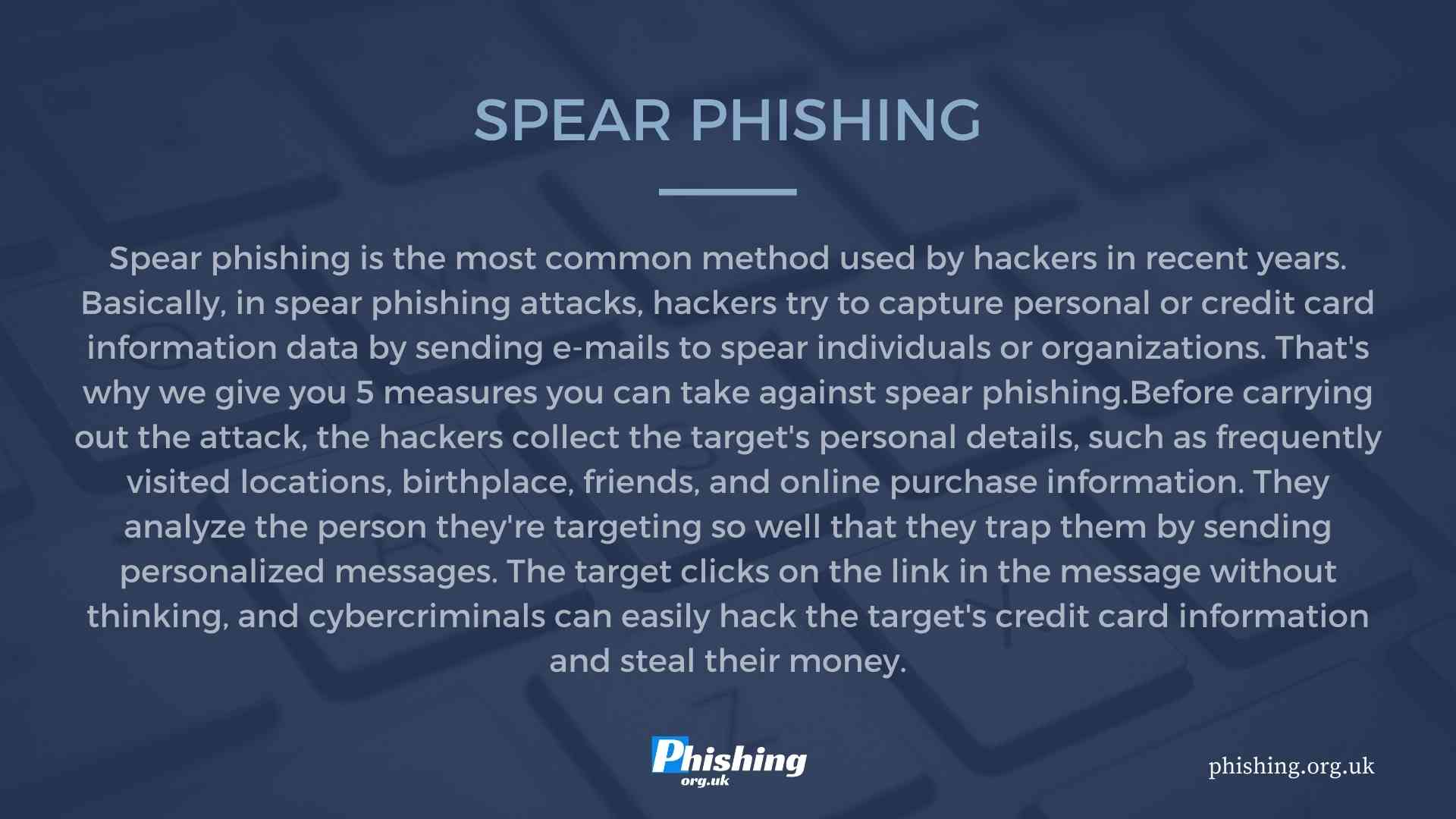 5 Measures You Can Take Against Spear Phishing