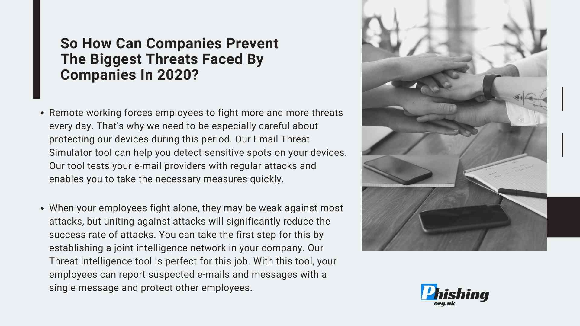 The Biggest Threats Faced by Companies in 2020