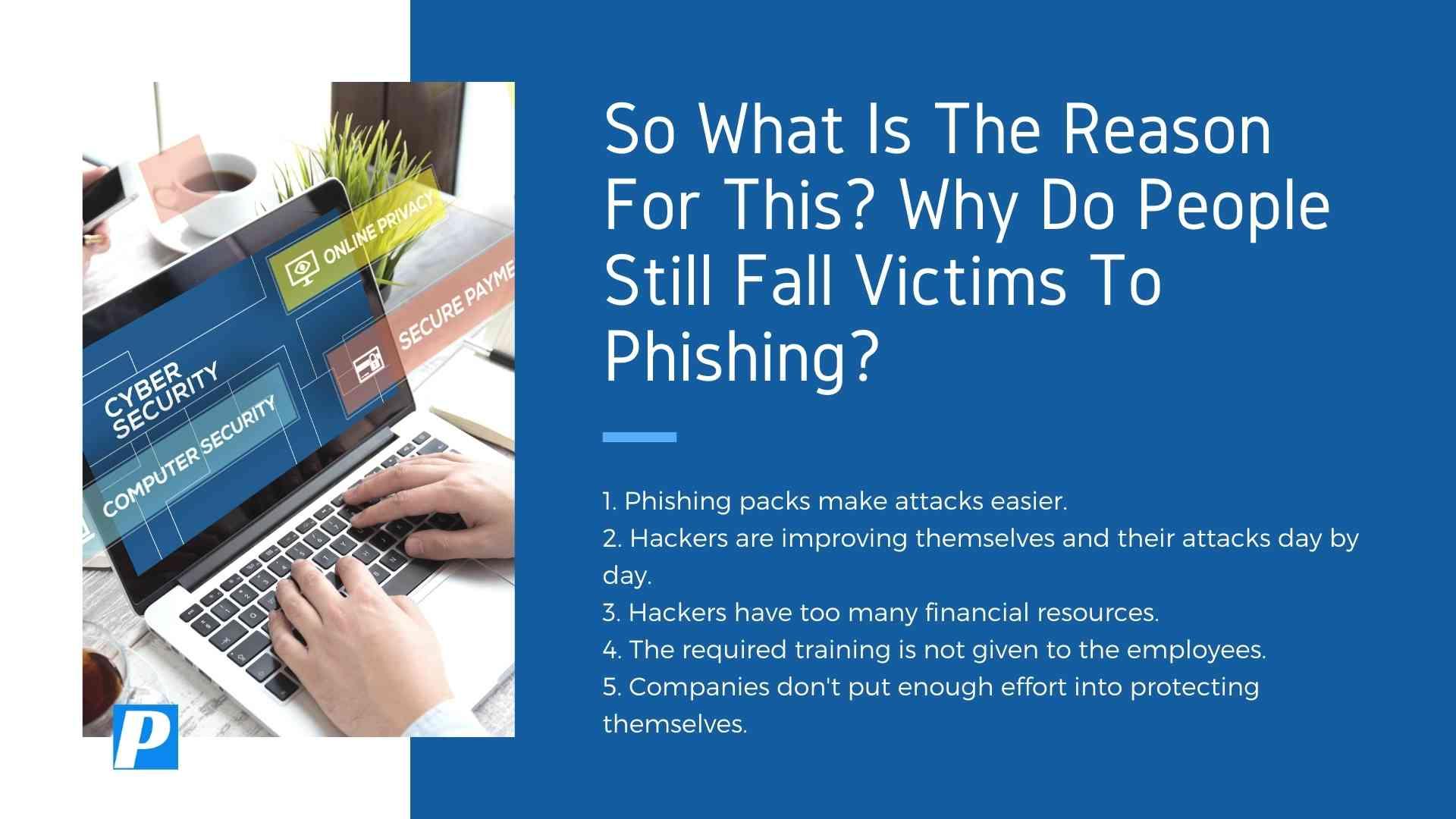 People Still Fall Victim to Phishing