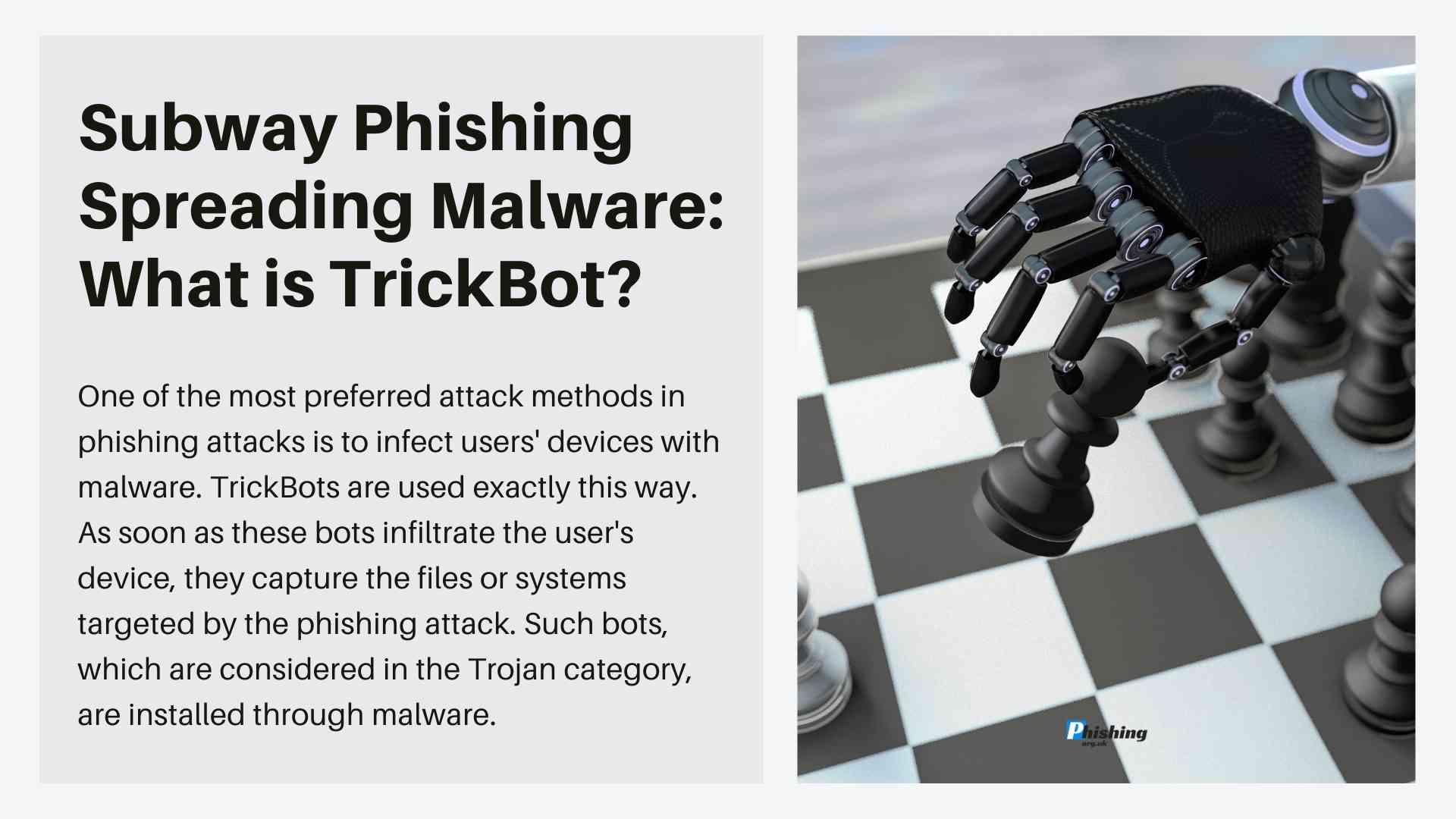 Subway Phishing Spreading Malware