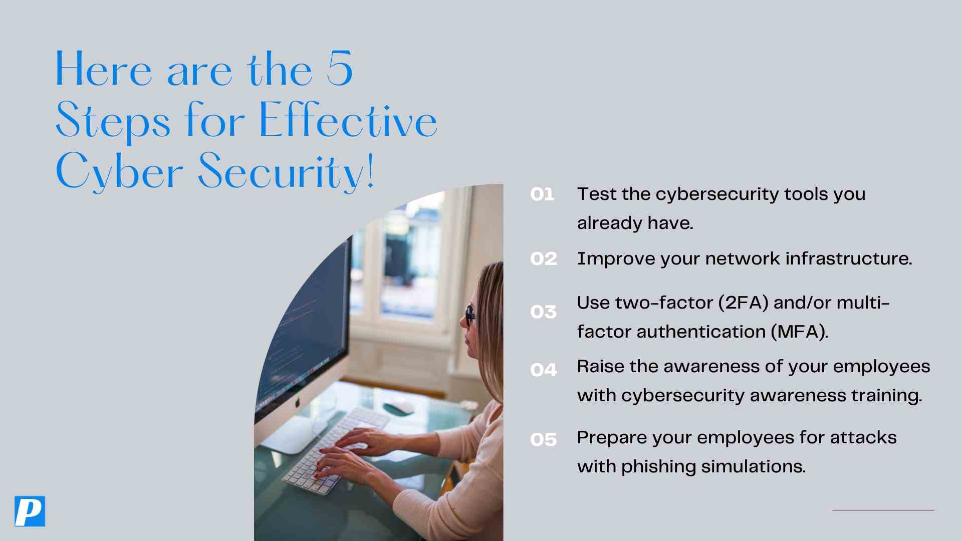 5 Steps for Effective Cybersecurity