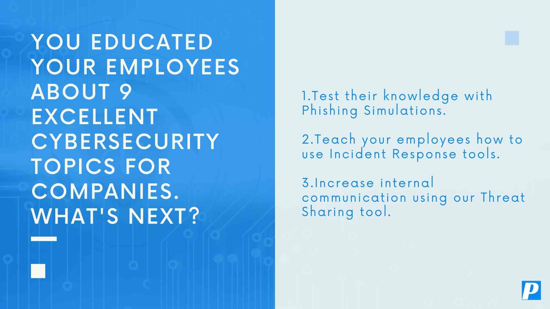 9 Excellent Cybersecurity Topics For Companies