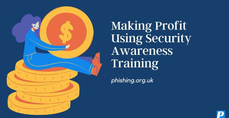 Making Profit Using Cybersecurity Training