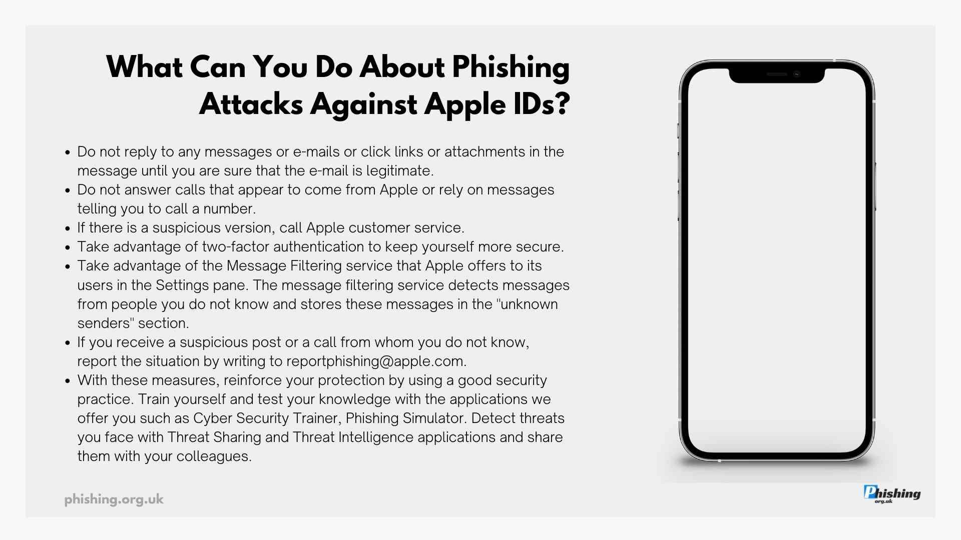 Phishing Attacks Against Apple IDs